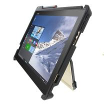 "Gumdrop Cases Droptech for Lenovo Ideapad Miix 700 12"" 80QL0004US, 80QL000AUS Rugged 2-in-1 Tablet Case Shock Absorbing Cover, Black / Black"