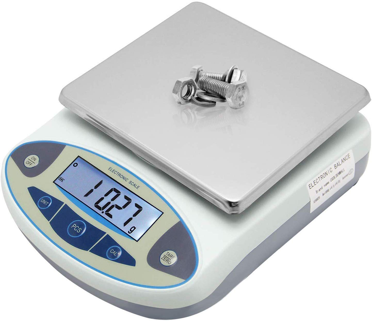 CGOLDENWALL High Precision Lab Analytical Electronic Balance Digital Precision Scale Laboratory Precision Weighing Electronic Scales Balance Jewelry Scales Gold Balance Kitchen Scales (300g, 0.01g)