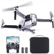 Ruko F11 Pro Drone 4K Quadcopter UHD GPS Drones, FPV Drone with Camera for Adults Beginner 30 Mins Flight Time Long 2500mAh Battery Brushless Motor-Black Come with 1 Extra Battery and Carrying Case
