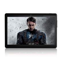 Tablet 7 inch, ZONKO Android 8.1 Quad Core 1024×600 Display, Dual Camera 2MP, 1GB RAM + 8GB ROM, Built-in WiFi and Bluetooth, Black