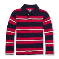The Children's Place Boys' Big Kid Long Sleeve Stripe Shirt