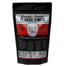 Olive My Pickle Fermented & Probiotic Kimchi for Gut Health - CLASSIC KIMCHI (16 Oz) 1 PACK