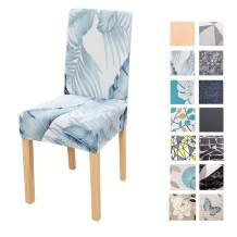 FORCHEER Chair Cover Strech Dining Chair Slipcovers Washable Removable Spandex Kitchen Room Chair Seat Covers