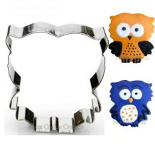 Fluffy Owl Cookie Cutter- Stainless Steel