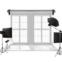 Kate 10x10ft/3x3m Wood Backdrop White Brick Backgrounds Indoor Window Backdrop Photography Background Family Wedding Photo Studio