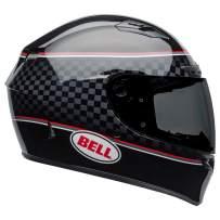 Bell Qualifier DLX MIPS Full-Face Motorcycle Helmet (Breadwinner Gloss Black/White, Small)