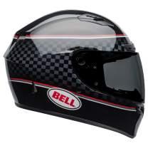 Bell Qualifier DLX MIPS Full-Face Motorcycle Helmet (Breadwinner Gloss Black/White, X-Large)