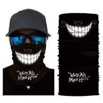 Summer Face Scarf Bandana Neck Gaiter Tube Magic Face Cover Scarf Balaclava Headwear Sun UV Protection