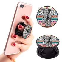 Tribe Elephant Phone Finger Foldable Expanding Stand Holder Kickstand Hand Grip Car Mount Hooks Widely Compatible with Almost All Phones/Cases