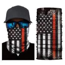 American Flag Face Mask Bandana Reusable Washable Cloth Dust Fishing Neck Gaiter