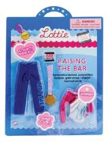 Doll Outfit by Lottie Raising The Bar Clothing Set| Best fun gift for empowering kids ages 3 & up