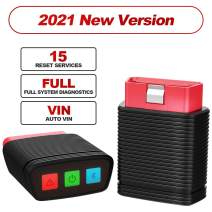 thinkcar ThinkCar Pro Bluetooth OBD2 Scanner, Full System OBD2 Scanner, Car Diagnostic Scan Tool, Auto VIN, Check Engine Light Code Reader for iOS & Android, Offer 5 Car or Reset Software