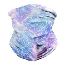 QoGoer Seamless Bandanas Balaclava Multifunctional Headband Scarf for Dust Protection Outdoors Festivals Sports