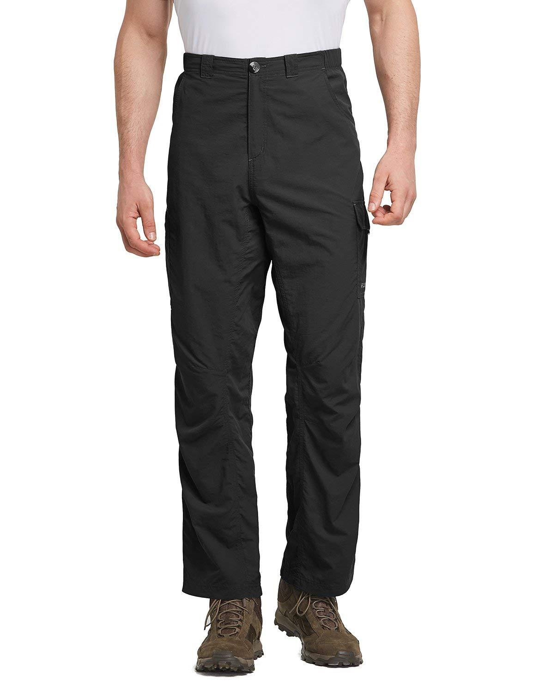 BALEAF Men's Hiking Cargo Pants UPF 50+ Quick Dry Lightweight Outdoor Pants