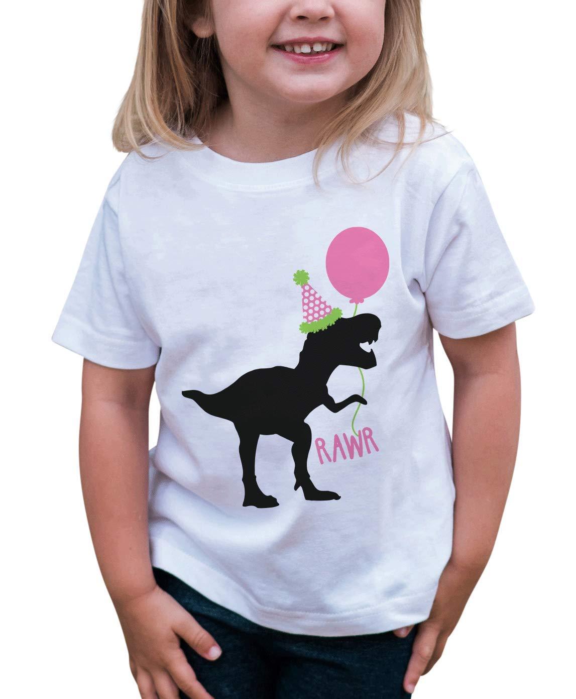 7 ate 9 Apparel Kids Dinosaur Birthday T-Shirt