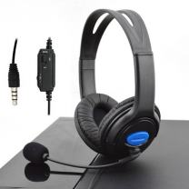 Gaming Headsets for PS4 Playstation 4 Wired Stereo Gaming Headset with Mic and Volume Control Adjustable Gaming Chat Headphones 3.5mm Jack