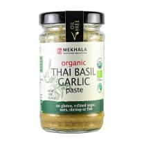 Mekhala Organic Gluten Free Thai Basil Garlic Paste Value 6 Pack (6x3.5oz)