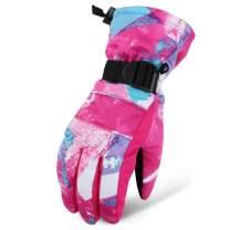 Aibrou Ski Gloves for Men Women Waterproof Touchscreen Windproof Skiing & Snowboarding Gloves