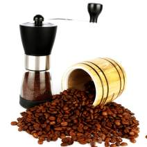 Taktik Coffee Grinder Manual Coffee Grinder Black Burr Coffee Grinders Ceramic Coffee Mill