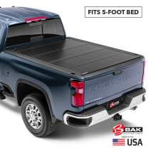 BAK BAKFlip G2 Hard Folding Truck Bed Tonneau Cover | 226107 | Fits 1993-04 GM S-10, Sonoma 5' Bed