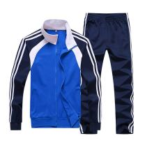Sun Lorence Men's Athletic Running Tracksuit Set Casual Full Zip Jogging Sweat Suit