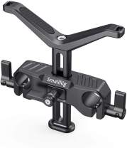 SMALLRIG Universal Lens Support with 15mm LWS Rod Clamp for Diameter 50mm to 140mm Lens - 1784