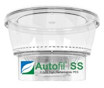 Foxx Life Sciences Autofil Super Speed Sterile Disposable Vacuum Bottle Top Filters with 0.2um Foxx Velocity Sterilizing PES Membrane, 250mL, 12/CS (116-1233-RLS)