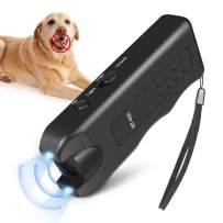 Vitorun Handheld Dog Repellent, Ultrasonic Infrared Dog Deterrent, Bark Stopper + Good Behavior Dog Training