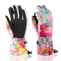 Ski Gloves Winter Gloves for Men Women Waterproof Touchscreen Gloves for Winter Outdoor Sports Motorcycle Gloves Snow Gloves