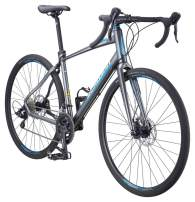 Schwinn Vantage Mens/Womens Hybrid Road Bike, Disc Brakes, Aluminum Frame, Multiple Colors