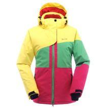 SAENSHING Women's Ski Jacket Waterproof Windproof Snowboard Jacket Winter Lined Mountain Rain Jacket