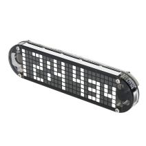KKmoon DS3231 High Accuracy DIY Digital Dot Matrix LED Alarm Clock Kit with Transparent Case Temperature Date Time Display