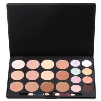 Vodisa 20 Colour Makeup Cream Contour Kit-Camouflage Concealer-Professional Face Corrector Highlighting Palette-Cosmetics Base Foundation Contouring Highlighter Beauty Make up Cream Blemish Pallet