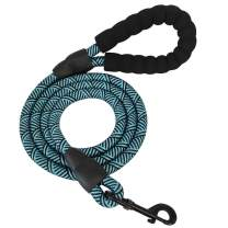 BTINESFUL Strong Rope Dog Leash 6FT, Heavy Duty Climbing Nylon Rope Leash Dog Training Walking Leash with Comfortable Padded Handle for Small Medium and Large Dogs