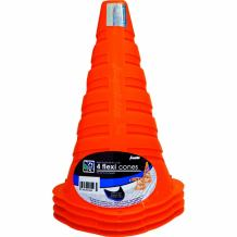 Franklin Sports 9-Inch Flexi Cones (Pack of 4)
