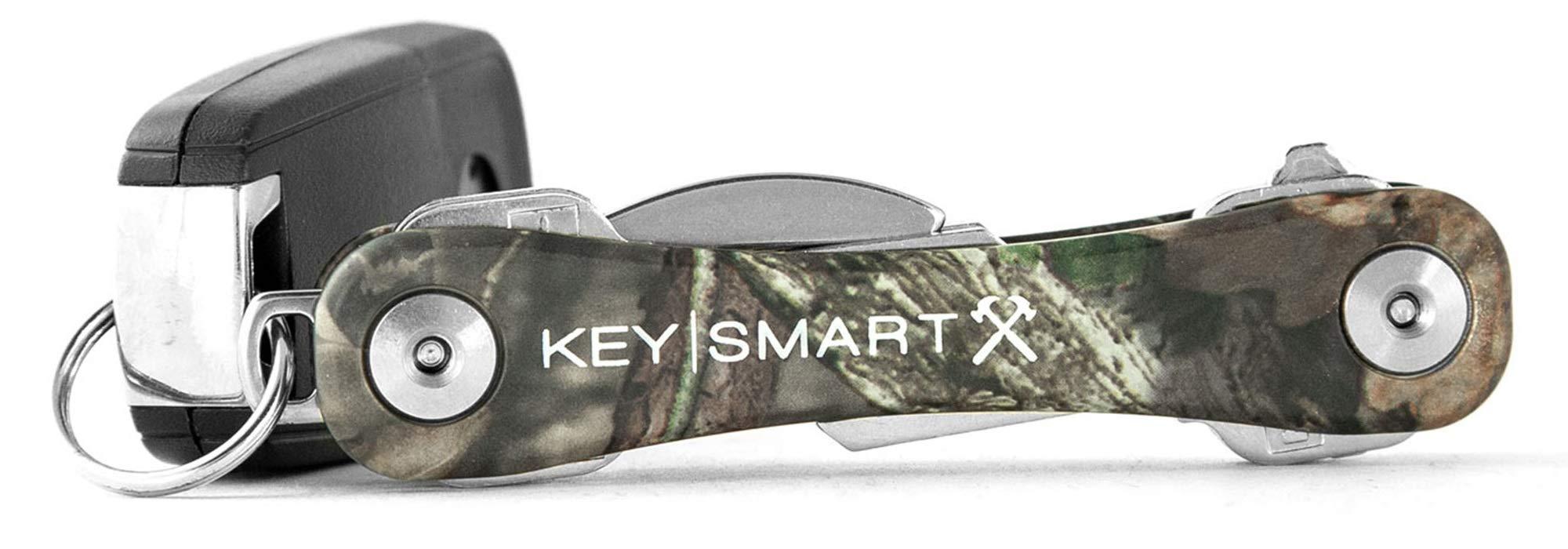 KeySmart Rugged - Multi-Tool Key Holder w Belt Clip & Bottle Opener (up to 14 Keys)