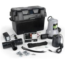 ECO-FLO Products EBBS Emergency Battery Backup Sump Pump System, 1/4 HP, 2,700 GPH