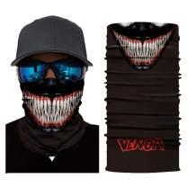 Face Mask UV Protection,Seamless Neck Gaiter Scarf Sunscreen Breathable Bandana.