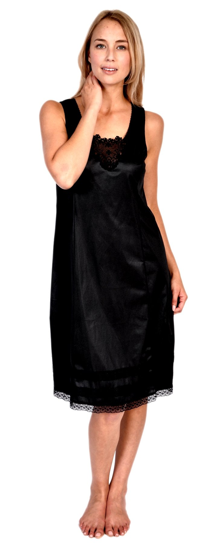 Patricia Womens Underdress Full Slip Lace Snip-it (36-40 inches S-XXXXL)