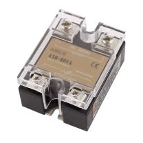uxcell ASH-80VA 470Kohm 2W to 24-480VAC 80A Single Phase Solid State Relay Resistance Voltage Regulator Authorized