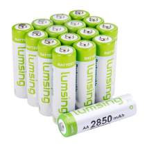 16x Lumsing AA 2850mAh 1.2 V Ni-MH Rechargeable Battery for MP3 RC Toys Camera