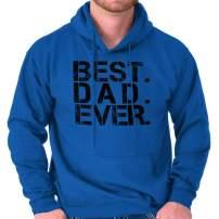Best Dad Ever Best Papa Gym Hoodie Hooded Sweatshirt Men
