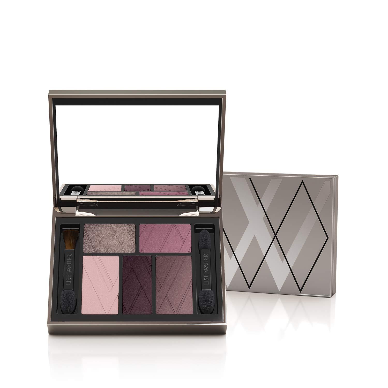 Lise Watier Dress Code 5-Colour Eyeshadow Palette, Prune-à-Porter, 0.21 oz