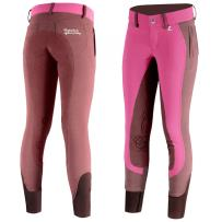 Horze Kiana Kids & Junior Leather Full Seat Breeches