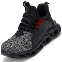 JACKSHIBO Steel Toe Shoes Men Work Shoes for Women Lightweight Safety Construction Shoes Puncture Proof Composite Toe Shoe