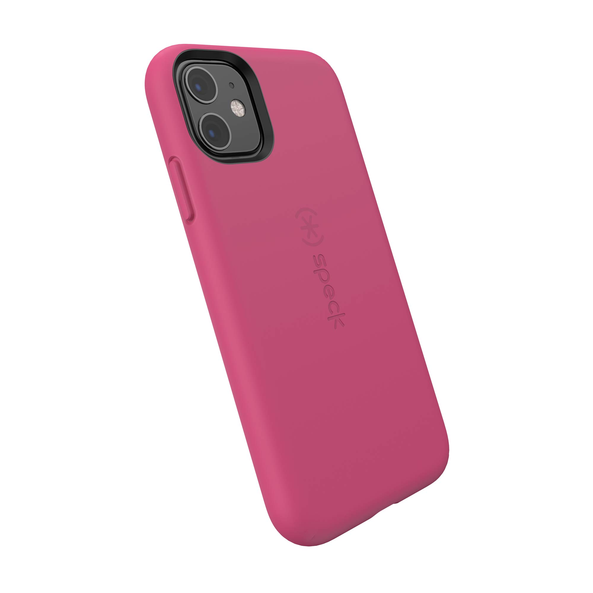 Speck CandyShell Fit iPhone 11 Case, Berry Pink/Berry Pink