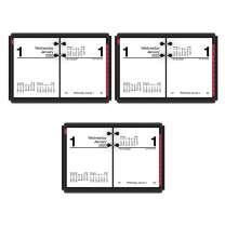 """AT-A-GLANCE 2020 Daily Desk Calendar Refill, 3"""" x 3-3/4"""", Pocket Size 2, Loose Leaf (E91950) (Pack of 3)"""