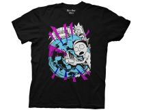 Ripple Junction Rick and Morty with Portal and Gun Adult T-Shirt