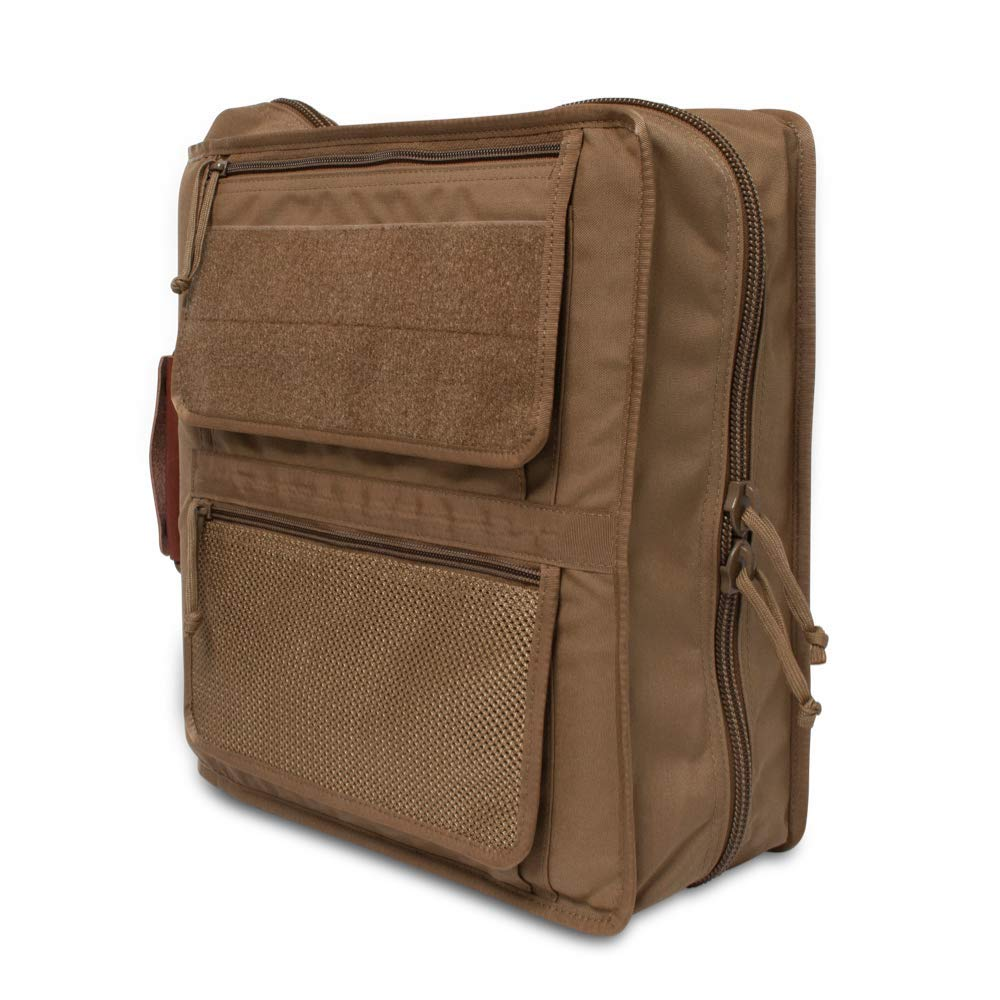Tactical 3-Ring Binder Cover System/Fits 3-4 Inch Binders/Customize with Add-ons!
