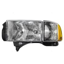 Drivers Combination Headlight Headlamp Replacement for Dodge Pickup Truck 55077025AC